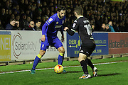 AFC Wimbledon midfielder Chris Whelpdale (11) during the EFL Sky Bet League 1 match between AFC Wimbledon and Bury at the Cherry Red Records Stadium, Kingston, England on 19 November 2016. Photo by Stuart Butcher.