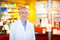 Portrait von Fabian Vaucher Präsident Schweizerischer Apotheker Verband