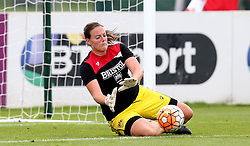 Hannah Reid goalkeeper for Bristol City Women warms up - Mandatory by-line: Robbie Stephenson/JMP - 27/08/2016 - FOOTBALL - Stoke Gifford Stadium - Bristol, England - Bristol City Women v Everton Ladies - FA Women's Super League 2