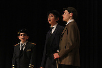 The Akiba Shechechter Middle School performed a dress rehearsal of the musical, Mary Poppins this past Friday to prepare for their Sunday afternoon performance at Kenwood Academy located at 51st and Lake Park.<br /> <br /> 0911 – Gavi Levi, Liam Jankelovics and Jacky Taylor performed.