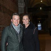 NLD/Amsterdam//20140325 - Schaatsgala 2013, prins Maurits en partner prinses Marilene
