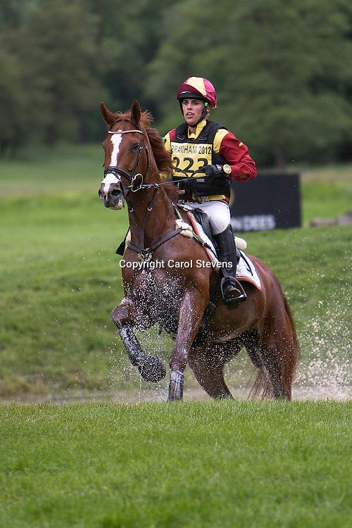 Equi-Trek Bramham International Horse Trials 2012  CIC3*<br /> Merel Blom and Umberto DB (NED)
