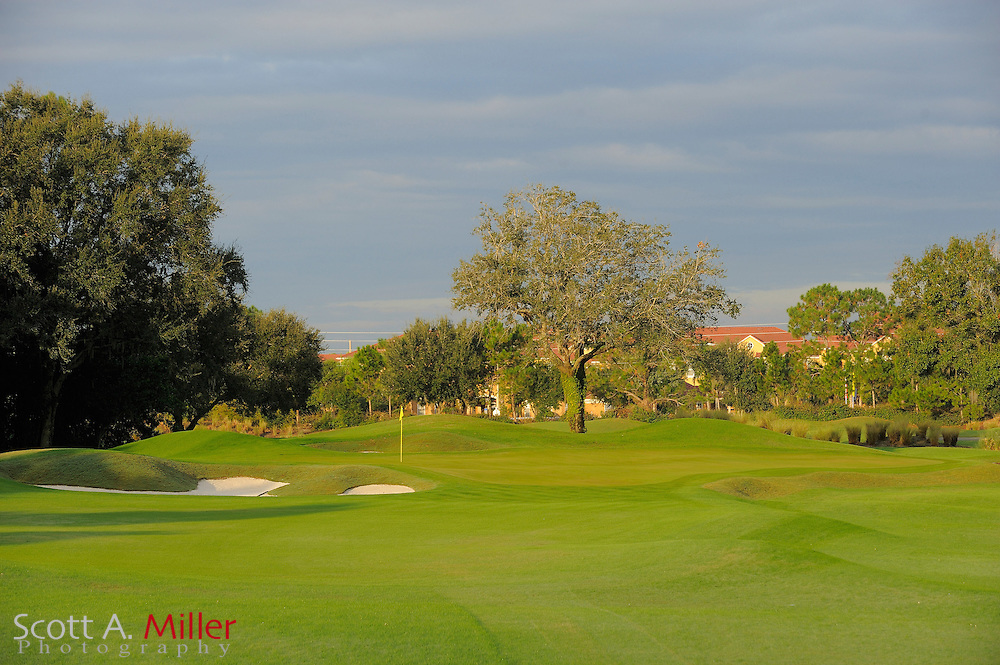 The fourth hole on the North Course at Grand Cypress on Oct. 20, 2010 in Orlando, Florida.....©2010 Scott A. Miller
