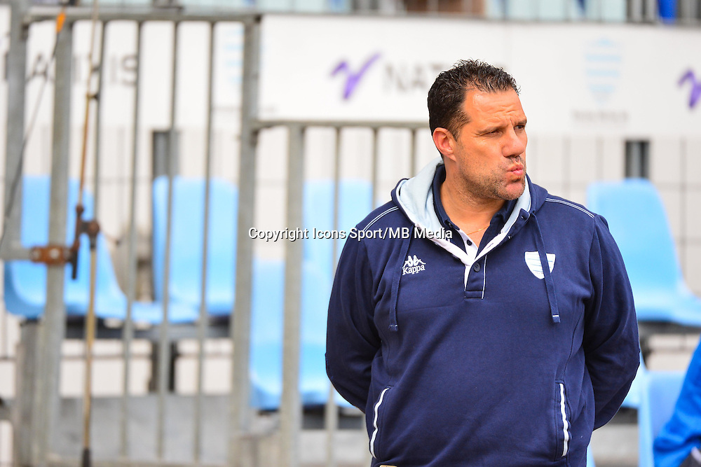 Laurent LABIT  - 11.04.2015 - Racing Metro / Montpellier  - 22eme journee de Top 14 <br />