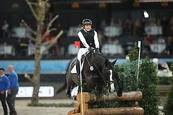 Klimke Ingrid, (GER), Parmenides<br /> Indoor Derby<br /> Stuttgart - German Masters 2015<br /> © Hippo Foto - Stefan Lafrentz