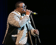 Finesse Richardson performs at the Roc Awards at the Kodak Theater on Sunday, February 15, 2015.