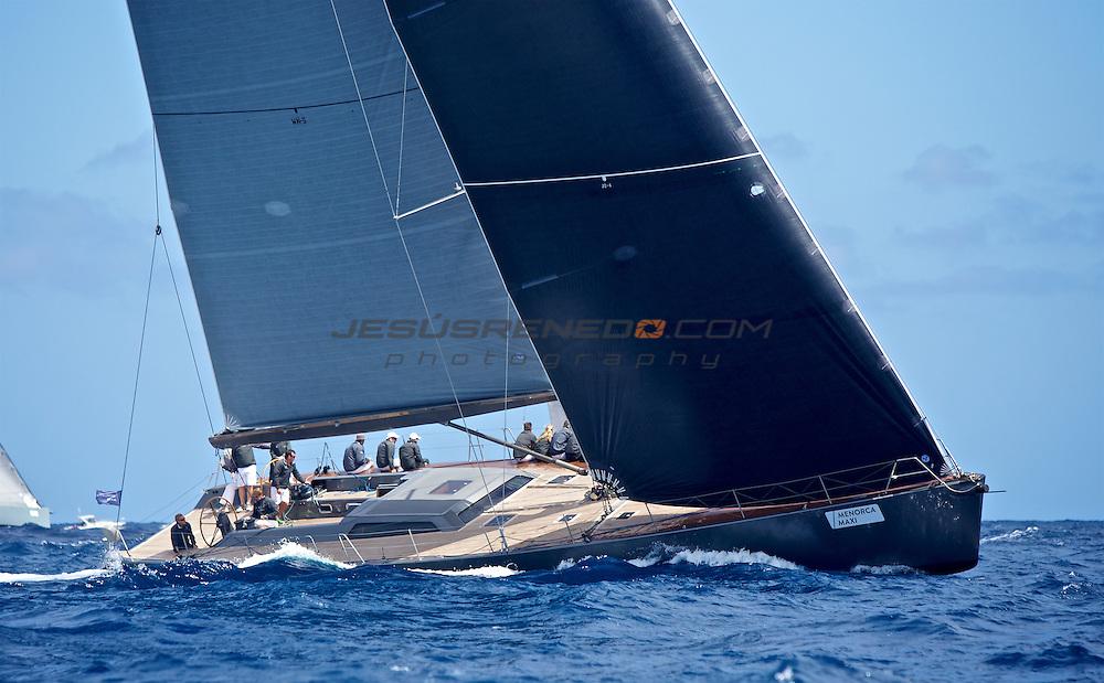 MENORCA MAXI 2014, © Jesus Renedo.Coastal race