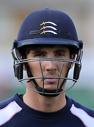 Middlesex's Steven Finn. - Photo mandatory by-line: Harry Trump/JMP - Mobile: 07966 386802 - 27/04/15 - SPORT - CRICKET - LVCC Division One - County Championship - Somerset v Middlesex - Day 2 - The County Ground, Taunton, England.