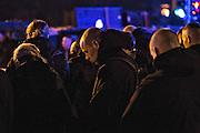 Magdeburg | 18 Jan 2014<br /> <br /> ACHTUNG BESONDERE HONORARKONDITIONEN!<br /> <br /> Am Samstag (19.01.2014) marschierten etwa 1000 Neonazis bei einem &quot;Gedenkmarsch&quot; durch Magdeburg, um der Bombardierungen der Stadt im 2. Weltkrieg zu &quot;gedenken&quot;.<br /> Hier: Neonazis bei einer &quot;Schweigeminute&quot; w&auml;hrend der Zwischenkundgebung der Demo.<br /> <br /> &copy;peter-juelich.com<br /> <br /> [No Model Release | No Property Release]