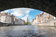 Swan's view of Bruges