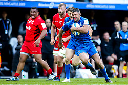 Rob Kearney of Leinster Rugby runs with the ball - Mandatory by-line: Robbie Stephenson/JMP - 11/05/2019 - RUGBY - St James' Park - Newcastle, England - Leinster Rugby v Saracens - Heineken Champions Cup Final