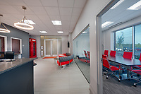 Interior image of Keller WIlliams offices at 231 Najoles Road at I-97 Business Park in Millersville Maryland by Jeffrey Sauers of Commercial Photographics, Architectural Photo Artistry in Washington DC, Virginia to Florida and PA to New England