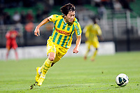 FOOTBALL - FRENCH CHAMPIONSHIP 2010/2011 - L2 - ES TROYES v FC NANTES - 13/08/2010 - PHOTO GUILLAUME RAMON / DPPI - <br /> YONGJAE LEE (NANTES)