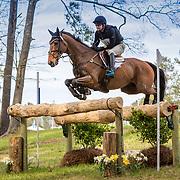 Waylon Roberts (CAN) and Kelecyn Cognac at the Carolina International Horse Trials in Raeford, North Carolina.