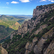 Monserrat, Barcelona, Catalonia, Spain