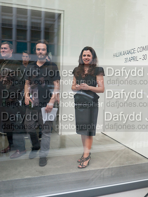 ALISON JACQUES, Haluk Akakce; Coming Home. Exhibition of work at the Alison Jacques Gallery. 29 April 2010. *** Local Caption *** -DO NOT ARCHIVE-© Copyright Photograph by Dafydd Jones. 248 Clapham Rd. London SW9 0PZ. Tel 0207 820 0771. www.dafjones.com.<br /> ALISON JACQUES, Haluk Akakce; Coming Home. Exhibition of work at the Alison Jacques Gallery. 29 April 2010.