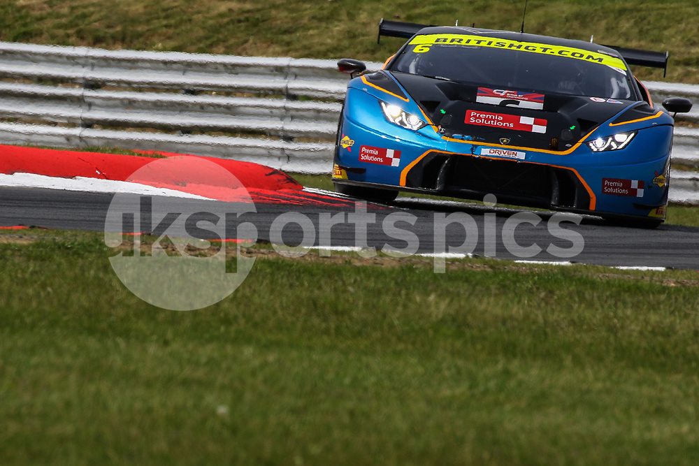 Barwell Motorsport Lamborghini Huracan GT3 with drivers Liam Griffin & Sam Tordoff during the British GT And BRDC British F3 Championships at the Snetterton Circuit, Norwich, England on 28 May 2017. Photo by Jurek Biegus.