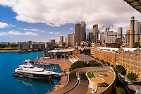 The Rocks and Circular Quay, Sydney, New South Wales, Australia