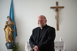 Portrait of Branko Macek, Slovenian priest and president of Karitas Maribor, in Maribor, on November 22nd, 2019 in Slovenia. Photo by Milos Vujinovic / Sportida