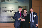 2014 New Yorker of the Year awardee, Ernie Anastos, Broadcaster, Fox TV (L), Gail Magaliff, CEO, FEGS (M) and Don Winter, Encompass Media (R). Celebrating the business leaders in New York City, who have built outstanding businesses - contributing to the economy and community as well. The MCC Business Awards Breakfast is the Manhattan Chamber's premiere event adn was attended by over 250 entrepreneurs, business owners, executives and legislative leaders in New York City. (Photo: www.JeffreyHolmes.com)
