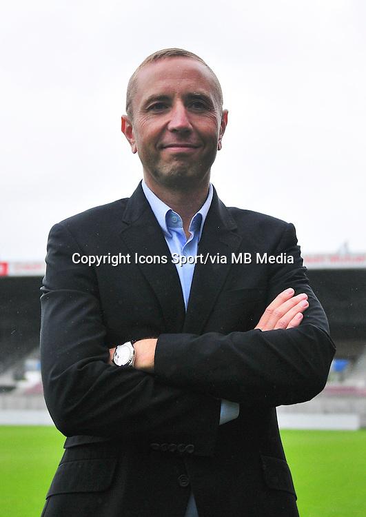 Bertrand DESPLAT  - 18.09.2013 - Photo officielle - Guingamp - Ligue 1<br /> Photo : Philippe Le Brech / Icon Sport