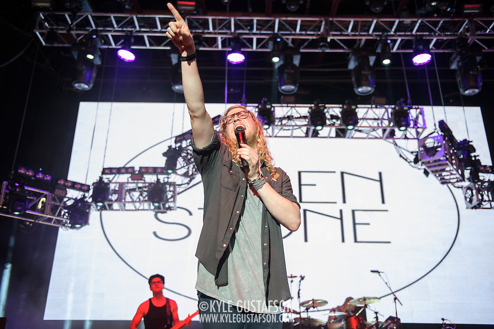 COLUMBIA, MD - May 30, 2015 - Allen Stone performs at the 2015 Sweetlife Festival at Merriweather Post Pavilion in Columbia, MD. (Photo by Kyle Gustafson / For The Washington Post)