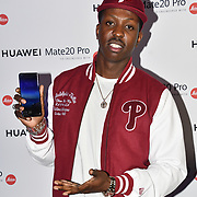 Jamal Edwards attend Huawei - VIP celebration at One Marylebone London, UK. 16 October 2018.