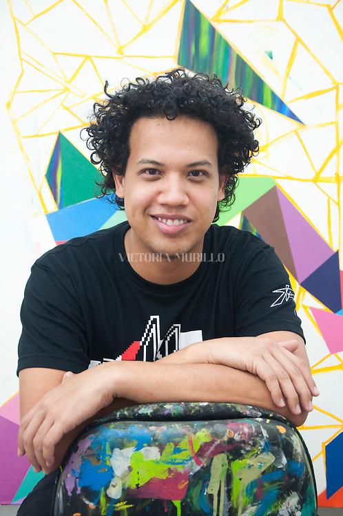 Taller de Cisco Merel, Artista plástico panameño.©Victoria Murillo/Istmophoto.com