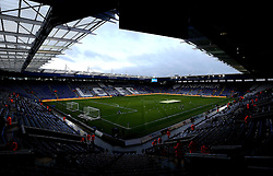 A general view of The Kingpower stadium, home of Leicester City with Poppy's cut into the pitch for Remembrance Day  - Mandatory by-line: Robbie Stephenson/JMP - 06/11/2016 - FOOTBALL - King Power Stadium - Leicester, England - Leicester City v West Bromwich Albion - Premier League