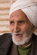 "Caretaker of Jameh Mosque, Yazd, Iran. Jameh (sometimes spelled Jamah) means ""Friday.""."