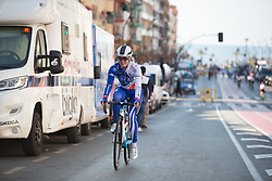 Rozanne Slik (NED) of FDJ Nouvelle Aquitaine Futuroscope Team rides to the sign-on before  Stage 4 of the Setmana Cicilsta Valenciana - a 118 km road race, starting and finishing in Benidorm on February 25, 2018, in Valencia, Spain. (Photo by Balint Hamvas/Velofocus.com)