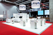 M-days Frankfurt 2013, Stand der Firma PayPal, Standbauer Ereignisschmiede Berlin.
