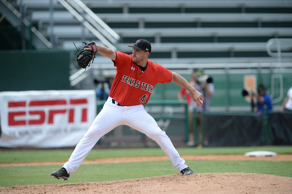 2014 Texas Tech Baseball vs Columbia<br /> Coral Gables Regional
