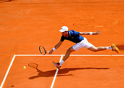 April 18, 2018 - Monaco - Tennis - Monaco - Bautista Agut Espagne (Credit Image: © Panoramic via ZUMA Press)