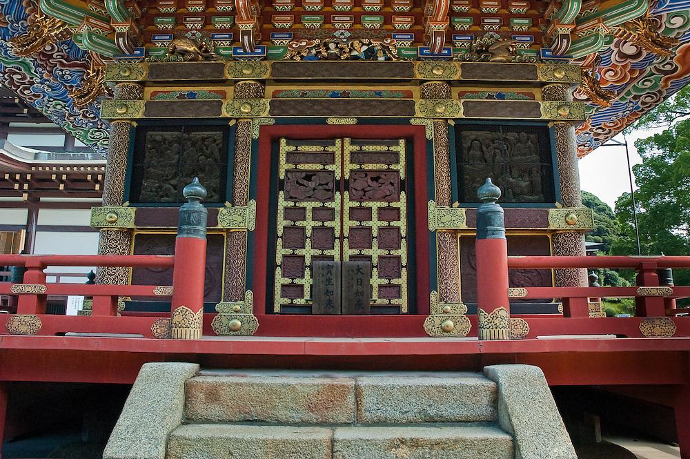 Details of the three storied pagoda at Naritasan Shinshoji Temple (tjp_325_0321)