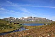 Ramsjøen, Fongen, Tydal. Foto: Bente Haarstad