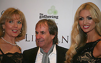 Diane Davison, Chris De Burgh and Rosanna Davison at the Lincoln film premiere Savoy Cinema in Dublin, Ireland. Sunday 20th January 2013.