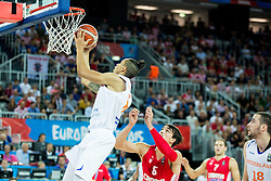 Worthy de Jong of Netherlands during basketball match between Netherlands and Croatia at Day 5 in Group C of FIBA Europe Eurobasket 2015, on September 9, 2015, in Arena Zagreb, Croatia. Photo by Vid Ponikvar / Sportida
