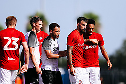 Marlon Pack of Bristol City during the 2nd leg of the match after the previous day's game was abandoned at half time due to extreme weather - Rogan/JMP - 14/07/2019 - IMG Academy, Bradenton - Florida, USA - Bristol City v Derby County - Pre-Season Tour Day 3.