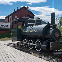 "Steam locomotive ""The Duchess"""