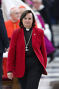 Rome jan 25th 2015, the pope leads the ceremony for the 48th week of prayer for christians unity. In the picture Tara Curlewis, General Secretary of the National Council of Churches in Australia (NCCA)