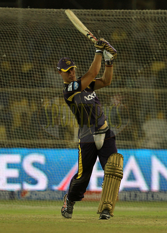 Chris Lynn of the Kolkata Knight Riders plays a shot during the Yes Bank maximum sixes after the match 25 of the Pepsi Indian Premier League Season 2014 between the Rajasthan Royals and the Kolkata Knight Riders held at the Sardar Patel Stadium, Ahmedabad, India on the 5th May  2014<br /> <br /> Photo by Vipin Pawar / IPL / SPORTZPICS      <br /> <br /> <br /> <br /> Image use subject to terms and conditions which can be found here:  http://sportzpics.photoshelter.com/gallery/Pepsi-IPL-Image-terms-and-conditions/G00004VW1IVJ.gB0/C0000TScjhBM6ikg