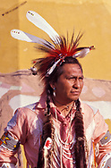 Model release, Philip Paul (Flathead Tribe), North American Indian Days, Browning, Blackfeet Indian Reservation, Montana, USA