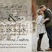 Morgan & Max Save the Dates