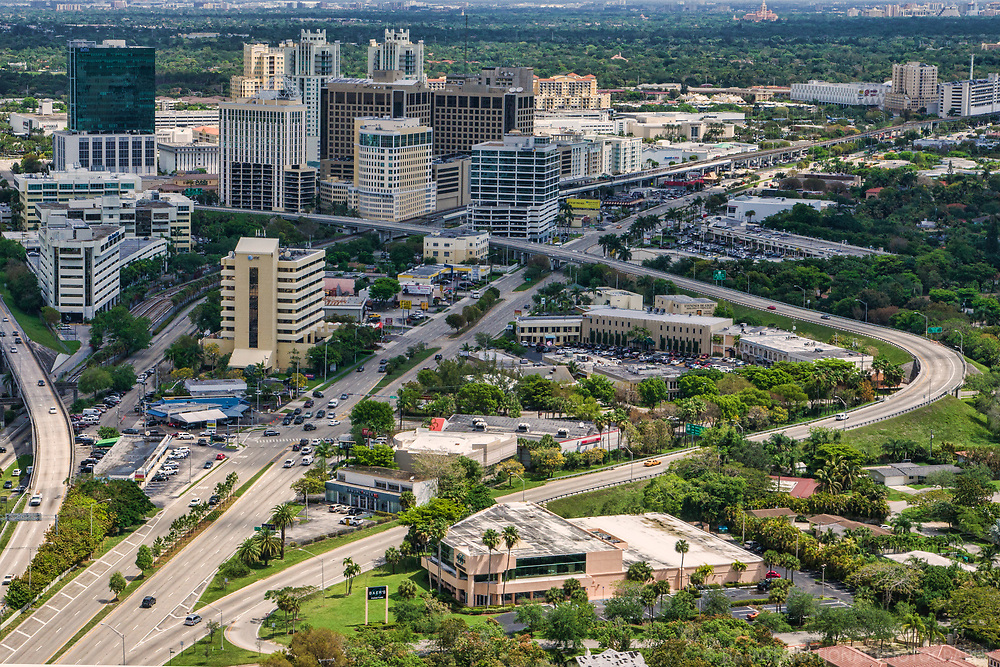 Dadeland Business District, Kendall (Miami Suburb)