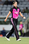 Holly Huddleston. Women's T20 international Cricket, Australia v New Zealand White Ferns.  Manuka Oval, Canberra, 5 October 2018. Copyright Image: David Neilson / www.photosport.nz