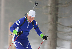 Klemen Bauer at training session of Slovenian biathlon team before new season 2009/2010,  on November 16, 2009, in Pokljuka, Slovenia.   (Photo by Vid Ponikvar / Sportida)