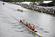 Henley, GREAT BRITAIN, Remenham Challenge Cup,  Leander Club and Wallingford Rowing Club. 2008 Henley Royal Regatta, on  Sunday, 06/07/2008,  Henley on Thames. ENGLAND. [Mandatory Credit:  Peter SPURRIER / Intersport Images] Rowing Courses, Henley Reach, Henley, ENGLAND . HRR