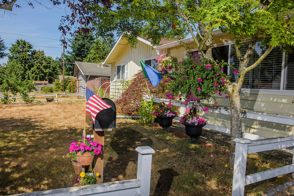 Mountlake Terrace, Washington - July 13, 2015: &quot;The Mailbox is our de facto embassy of the United States. ...they keep depositing mail there,&quot; says King Adam I, ruler of the micronation &Uuml;berstadt. <br /> <br /> The Kingdom of &Uuml;berstadt is led by nineteen-year-old King Adam I, (Adam Oberstadt). The Barony of Rosewood -- the micronation's capitol and the Oberstadt family home -- is nestled in the Seattle suburb of Mountlake Terrace, Wash. <br /> &Uuml;berstadt also claims territory of nearby Edmount Island on Lake Ballinger -- called The Barony of Ballinger and &quot;considered the spiritual homeland of the nation.&quot; Both baronies reside within the Duchy of Edmount which &quot;is situated entirely within the boundaries of the city of Mountlake Terrace, Washington,&quot; according to the &Uuml;berstadt website.<br /> &Uuml;berstadt  was founded by King Adam I and his high school friends March 6, 2010, and was governed by judges as a kritarchy. Before taking the crown, Adam was &Uuml;berstadt's chief judge. After graduation, many of the &Uuml;berstadti moved away to college and &Uuml;berstadt's populace shrank. Activities would shift from the high school to Rosewood, and the governing style morphed to a unitary constitutional monarchy. According to the micronation's website &Uuml;berstadt is a sovereign state &quot;guided by the principles of direct democracy, socialist economics, and environmentalism.&quot; <br /> <br /> CREDIT: Matt Roth