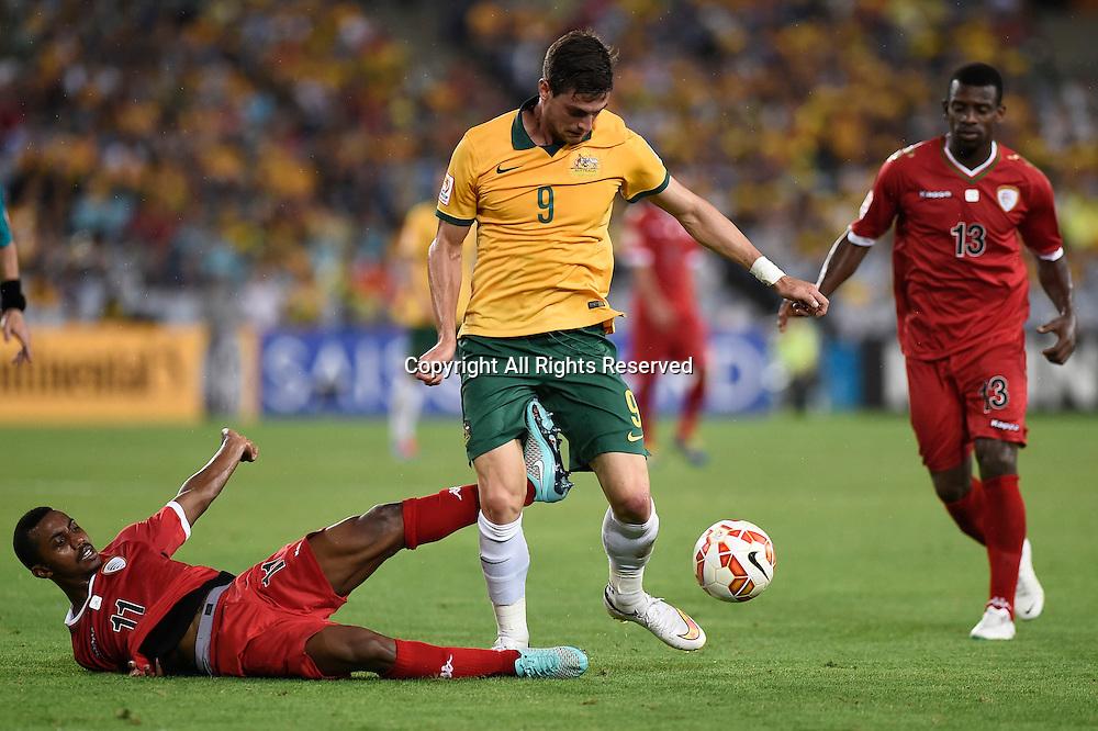 13.01.2015.  Sydney, Australia. AFC Asian Cup Group A. Australia versus Oman. Australian forward Tomi Juric. Australia won the game 4-0.